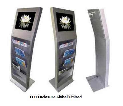 free standing LCD ad player