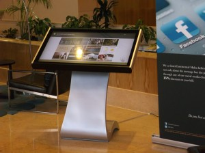 London digital signage kiosks