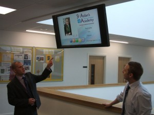 school digital signage