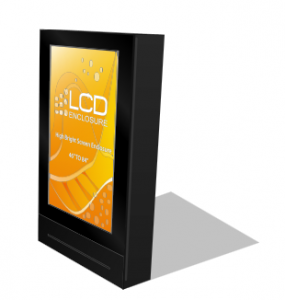 sunlight readable digital signage enclosure